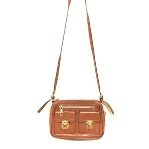 Marc Jacobs Cammie leather double buckle small bag